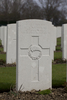 Headstone of Private William Stephens Nicholas (43584). Hooge Crater Cemetery, Ieper, West-Vlaanderen, Belgium. New Zealand War Graves Trust (BEBS6733). CC BY-NC-ND 4.0.