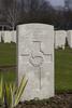Headstone of Lance Corporal William Huson Pay (9/1717). Hooge Crater Cemetery, Ieper, West-Vlaanderen, Belgium. New Zealand War Graves Trust (BEBS6725). CC BY-NC-ND 4.0.
