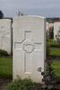 Headstone of Private Arthur John Bowden (3/1675). Tyne Cot Cemetery, Zonnebeke, West-Vlaanderen, Belgium. New Zealand War Graves Trust (BEEG1930). CC BY-NC-ND 4.0.
