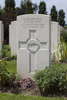 Headstone of Private Arthur Noel Brown (26784). Tyne Cot Cemetery, Zonnebeke, West-Vlaanderen, Belgium. New Zealand War Graves Trust (BEEG1819). CC BY-NC-ND 4.0.