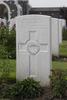 Headstone of Private John Jennings Crompton (6/4017). Tyne Cot Cemetery, Zonnebeke, West-Vlaanderen, Belgium. New Zealand War Graves Trust (BEEG2007). CC BY-NC-ND 4.0.