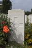 Headstone of Private Ralph Semple Darrach (31610). Tyne Cot Cemetery, Zonnebeke, West-Vlaanderen, Belgium. New Zealand War Graves Trust (BEEG1859). CC BY-NC-ND 4.0.