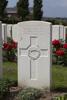 Headstone of Second Lieutenant Herbert Albert Edwin Milnes (22525). Tyne Cot Cemetery, Zonnebeke, West-Vlaanderen, Belgium. New Zealand War Graves Trust (BEEG1792). CC BY-NC-ND 4.0.