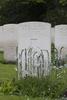 Headstone of Pilot Officer Thomas Andrew Robson (414893). Heverlee War Cemetery, Leuven, Vlaams-Brabant, Belgium. New Zealand War Graves Trust (BEBR8286). CC BY-NC-ND 4.0.