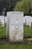 Headstone of Flight Sergeant Allan Henderson Fairmaid (424253). Brussels Town Cemetery, Evere, Belgium. New Zealand War Graves Trust (BEAO5791). CC BY-NC-ND 4.0.