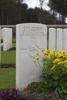 Headstone of Rifleman Roy Lane Cunliffe (13739). Polygon Wood Cemetery, Zonnebeke, West-Vlaanderen, Belgium. New Zealand War Graves Trust (BEDK6512). CC BY-NC-ND 4.0.