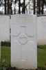 Headstone of Private John Richard Samuel Birbeck (59305). Buttes New British Cemetery, Polygon Wood, Zonnebeke, West-Vlaanderen, Belgium. New Zealand War Graves Trust (BEAR6431). CC BY-NC-ND 4.0.