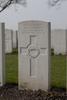 Headstone of Rifleman Victor Claude Carthy (26556). Messines Ridge British Cemetery, Mesen, West-Vlaanderen, Belgium. New Zealand War Graves Trust (BECT5955). CC BY-NC-ND 4.0.