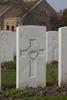 Headstone of Rifleman Alexander Stirling Cross (25819). Messines Ridge British Cemetery, Mesen, West-Vlaanderen, Belgium. New Zealand War Graves Trust (BECT5947). CC BY-NC-ND 4.0.