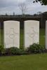 Headstone of Rifleman George Kent Richardson (39101). Bedford House Cemetery, Ieper, Belgium. New Zealand War Graves Trust (BEAH8419). CC BY-NC-ND 4.0.
