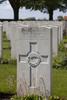 Headstone of Private David Albert Kilburn (12/3701). Poelcapelle British Cemetery, Langemark-Poelkapelle, West-Vlaanderen, Belgium. New Zealand War Graves Trust (BEDJ8941). CC BY-NC-ND 4.0.