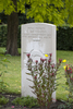 Headstone of Private George Davidson (74169). Mons (Bergen) Communal Cemetery, Hainaut, Belgium. New Zealand War Graves Trust (BECV0754). CC BY-NC-ND 4.0.
