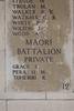 Headstone of Private Samuel Grace (19745). Buttes New British Cemetery (N.Z.) Memorial, Polygon Wood, Zonnebeke, West-Vlaanderen, Belgium. New Zealand War Graves Trust (BEAQ6274). CC BY-NC-ND 4.0.