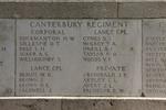 Headstone of Private James Francis Archibald (21638). Messines Ridge (N.Z.) Memorial, Mesen, West-Vlaanderen, Belgium. New Zealand War Graves Trust (BECS6012). CC BY-NC-ND 4.0.