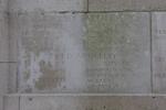 Headstone of Private Evelyn James William Browne (24485). Messines Ridge (N.Z.) Memorial, Mesen, West-Vlaanderen, Belgium. New Zealand War Graves Trust (BECS6002). CC BY-NC-ND 4.0.