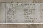 Headstone of Private Bernard Stewart Gibb (15528). Messines Ridge (N.Z.) Memorial, Mesen, West-Vlaanderen, Belgium. New Zealand War Graves Trust (BECS5882). CC BY-NC-ND 4.0.