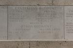 Headstone of Second Lieutenant John McGregor (39400). Messines Ridge (N.Z.) Memorial, Mesen, West-Vlaanderen, Belgium. New Zealand War Graves Trust (BECS5886). CC BY-NC-ND 4.0.
