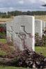 Headstone of Rifleman Anthony Lennan (26/839). St Quentin Cabaret Military Cemetery, Heuvelland, West-Vlaanderen, Belgium. New Zealand War Graves Trust (BEEA2434). CC BY-NC-ND 4.0.