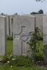 Headstone of Private Edwin Victor Cantell (40509). Brandhoek New Military Cemetery No 3, Vlamertinge, Ieper, West-Vlaanderen, Belgium. New Zealand War Graves Trust (BEAN0190). CC BY-NC-ND 4.0.