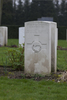 Headstone of Flight Sergeant Allan Henderson Fairmaid (424253). Brussels Town Cemetery, Evere, Belgium. New Zealand War Graves Trust (BEAO5793). CC BY-NC-ND 4.0.