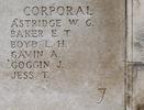 Headstone of Corporal William George Astridge (24/1331). Tyne Cot Memorial, Zonnebeke, West-Vlaanderen, Belgium. New Zealand War Graves Trust (BEEH7925). CC BY-NC-ND 4.0.