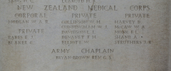 Headstone of Private Ernest John Bates (3/165). Tyne Cot Memorial, Zonnebeke, West-Vlaanderen, Belgium. New Zealand War Graves Trust (BEEH7941A). CC BY-NC-ND 4.0.