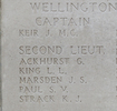 Headstone of Sergeant Matthias Beck (10/2855). Tyne Cot Memorial, Zonnebeke, West-Vlaanderen, Belgium. New Zealand War Graves Trust (BEEH7911). CC BY-NC-ND 4.0.