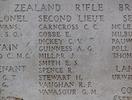 Headstone of Second Lieutenant Cyril Cutten Carncross (39724). Tyne Cot Memorial, Zonnebeke, West-Vlaanderen, Belgium. New Zealand War Graves Trust (BEEH7924A). CC BY-NC-ND 4.0.
