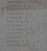 Headstone of Private Herbert Walter Arthur Mitchell (23/2039). Tyne Cot Memorial, Zonnebeke, West-Vlaanderen, Belgium. New Zealand War Graves Trust (BEEH7920). CC BY-NC-ND 4.0.