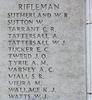Headstone of Rifleman William Robert Sutherland (34166). Tyne Cot Memorial, Zonnebeke, West-Vlaanderen, Belgium. New Zealand War Graves Trust (BEEH7937A). CC BY-NC-ND 4.0.