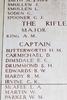 Headstone of Captain Hugh Montagu Butterworth . Ypres (Menin Gate) Memorial, Ieper, Belgium. New Zealand War Graves Trust (BEEY2569). CC BY-NC-ND 4.0.