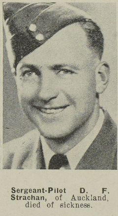 Portrait of Sergeant David Findlay Strachan, Auckland Weekly News, 18 November 1942. Auckland Libraries Heritage Collections AWNS-19421118-18-31. Image has no known copyright restrictions.