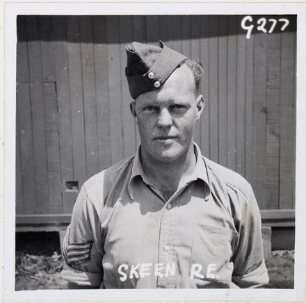 R E Skeen. Identification Album RNZAF (c.1939-1945). Aerodrome Defence Unit, Camp 1. Hibiscus Coast (Silverdale) RSA Museum (G277). CC BY 4.0.