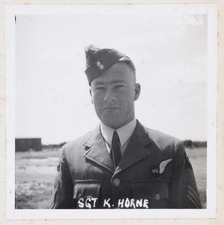 SGT K Horne. Identification Album RNZAF (c.1939-1945). Aerodrome Defence Unit, Camp 1. Hibiscus Coast (Silverdale) RSA Museum (G343). CC BY 4.0.