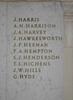 Auckland War Memorial Museum, South African War 1899-1902 Names Harris, J. - Hyde, G. (digital photo J. Halpin 2011)