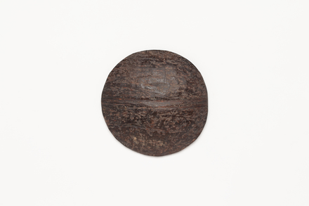 coconut shell disc, 1969.94, 41229, Cultural Permissions Apply