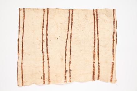 bark cloth, 1977.21, 48082.3, Cultural Permissions Apply