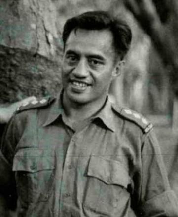 Photograph of Captain Eru Ihaka Manuera 304479. Image kindly provided by Kiri Manuera (April 2018). Image may be subject to copyright restrictions.
