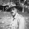Photograph of Lieutenant Colonel John Brooke White at Vella Lavella, Solomon Islands, 3 December 1943. Taken by an official photographer. Alexander Turnbull Library, Wellington, DA-00167-F. Image is subject to copyright restrictions.