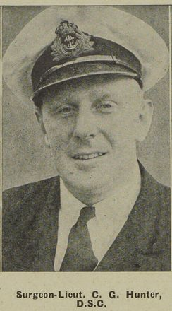 Portrait of Surgeon Lieutenant Colin Graeme Hunter, Auckland Weekly News, 28 February 1940. Auckland Libraries Heritage Collections AWNS-19400228-46-3. Image has no known copyright restrictions.