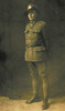 Portrait of Private Ewart Sylvanus Tuck, First World War. Image kindly provided by Michael Palmer Tuck (December 2019). Image has no known copyright restrictions.