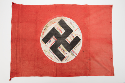 flag, 2019.62.126, Photographed 13 Jan 2020, © Auckland Museum CC BY