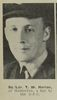 Portrait of Squadron Leader T W Horton of Masterton, awarded a bar to the D.F.C. Published in the Auckland Weekly News. Image kindly provided by Auckland Libraries Heritage Collections AWNS-19440920-24-41. Image has no known copyright restrictions.