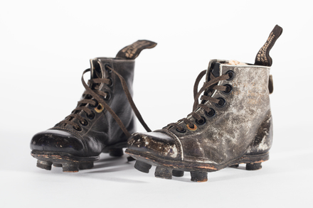 boots, rugby [miniature], 2005.83.3, 8104, Photographed 15 Jan 2020, © Auckland Museum CC BY