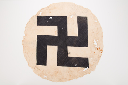 emblem, cloth, 2019.62.129, Photographed 15 Jan 2020, © Auckland Museum CC BY