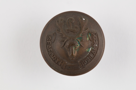 button, regimental
