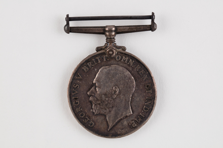 medal, campaign, 2019.62.555.2, Photographed 23 Jan 2020, © Auckland Museum CC BY