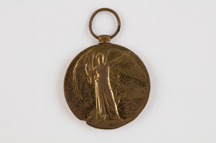medal, campaign, 2019.62.555.4, Photographed 23 Jan 2020, © Auckland Museum CC BY