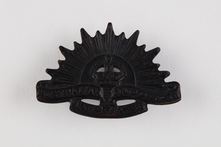 badge, regimental