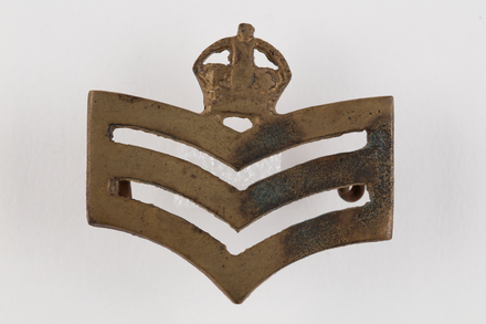 badge, rank, 2019.62.236, Photographed 28 Jan 2020, © Auckland Museum CC BY